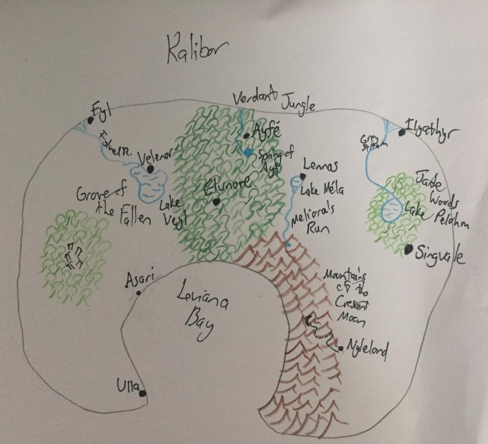 Kalibor Map